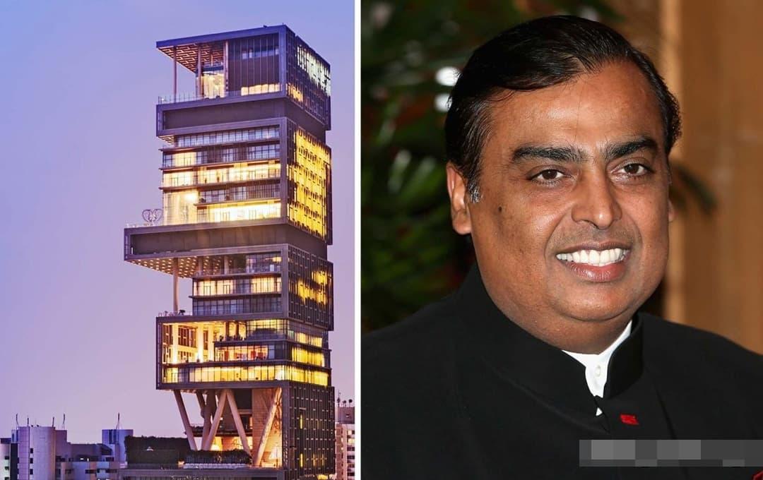 Căn nhà 'độc thân' của đại gia giàu nhất Ấn Độ và dinh thự xa hoa hơn 1 tỷ đô ở khu trung tâm có gì?