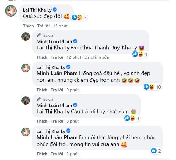 Minh Luân công khai bạn gái 0