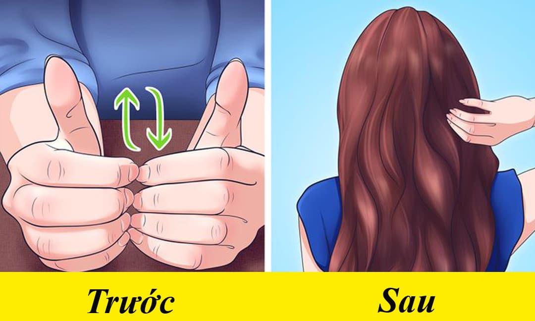 Hướng dẫn cách chà móng tay chỉ trong 10 phút giúp tóc mọc dài, không gãy rụng