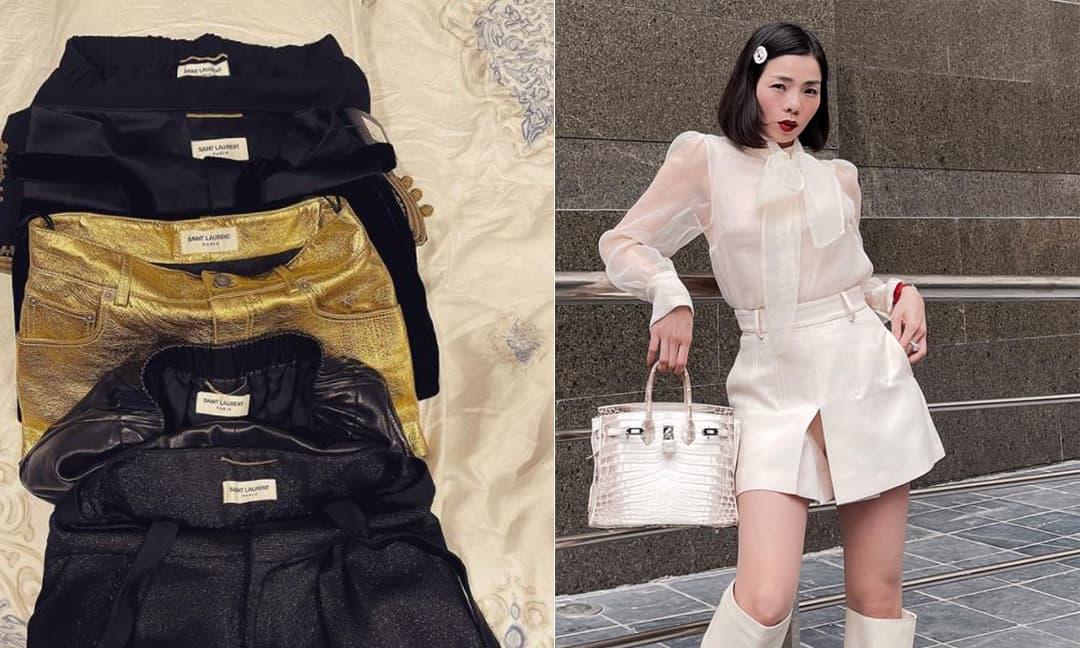 Sở thích khi mua quần áo hàng hiệu đúng chuẩn 'nữ đại gia' của Lệ Quyên