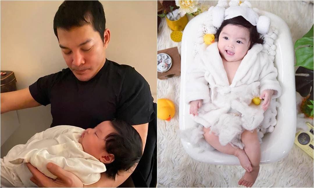 Sau đổ vỡ hôn nhân với Trương Ngọc Ánh, diễn viên Trần Bảo Sơn chính thức khoe con gái cưng với vợ thứ 2