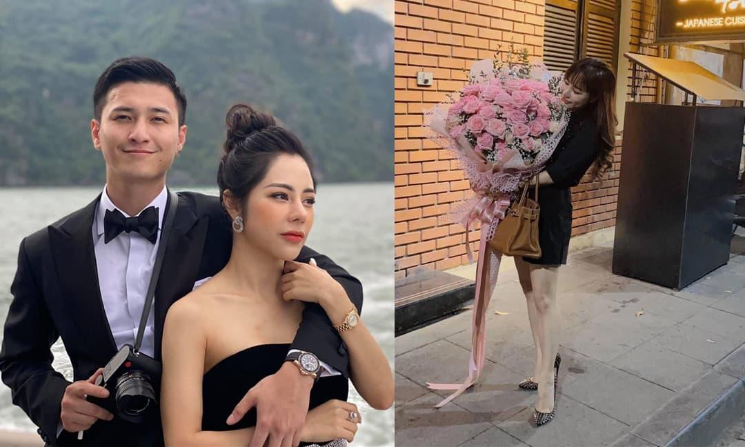 Bạch Lan Phương làm gì khi bạn trai Huỳnh Anh liên tục dính scandal