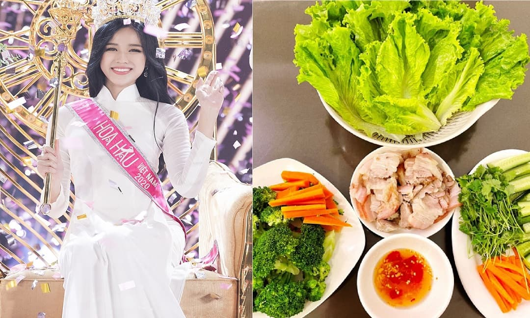 Hoa hậu 'nông dân' Đỗ Thị Hà lại 'đốn tim' người hâm mộ khi khoe tài bếp núc đạt chuẩn 'vợ đảm - dâu hiền'