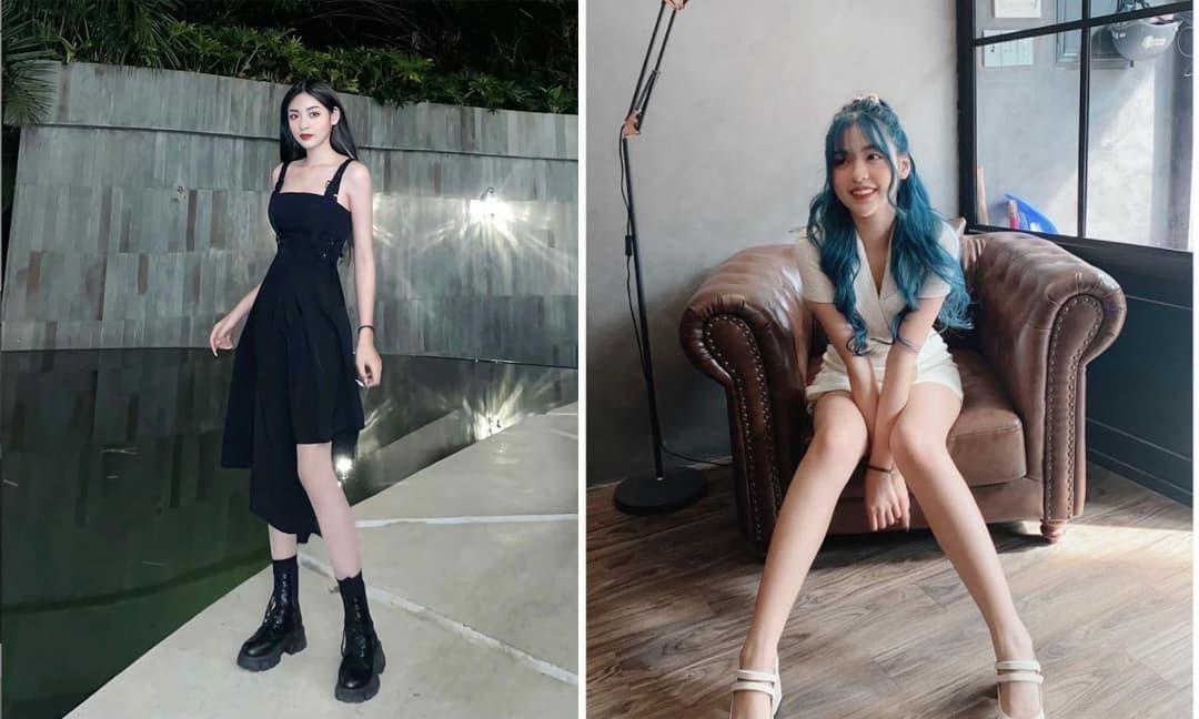 Hot girl 'bắp cần bơ' Thanh Tâm tiết lộ có đôi chân dài đến 1m13, dài hơn cả chân Thanh Hằng