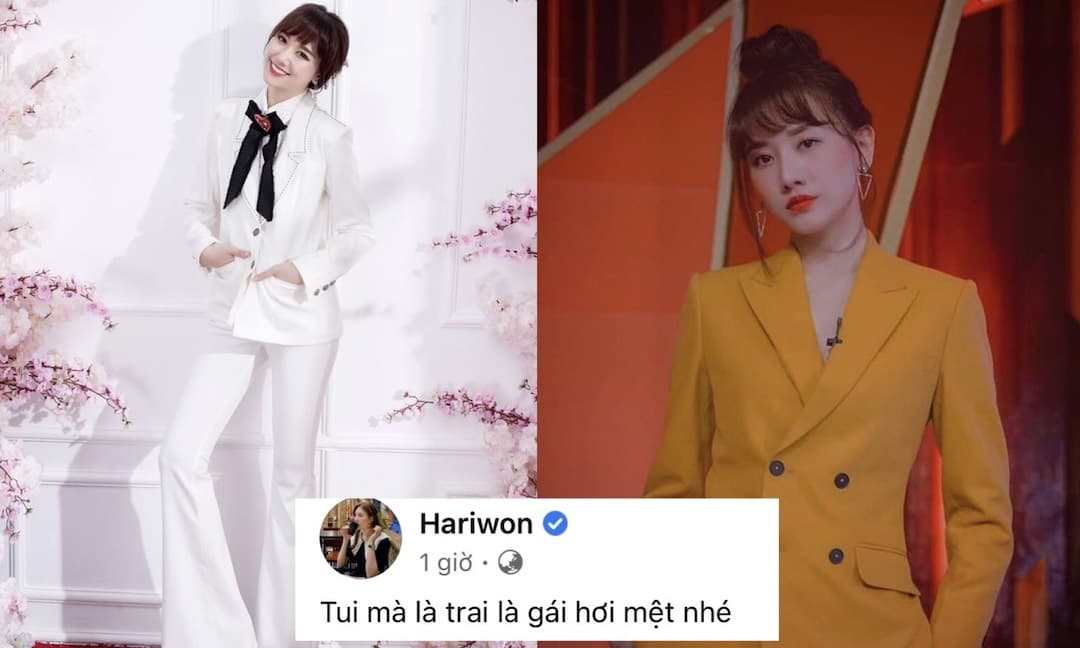 """Hari Won đăng ảnh """"siêu ngầu"""", ai ngờ lại thành 'tấu hài' khi cư dân mạng thi nhau vào chỉnh lỗi ngữ pháp của caption"""