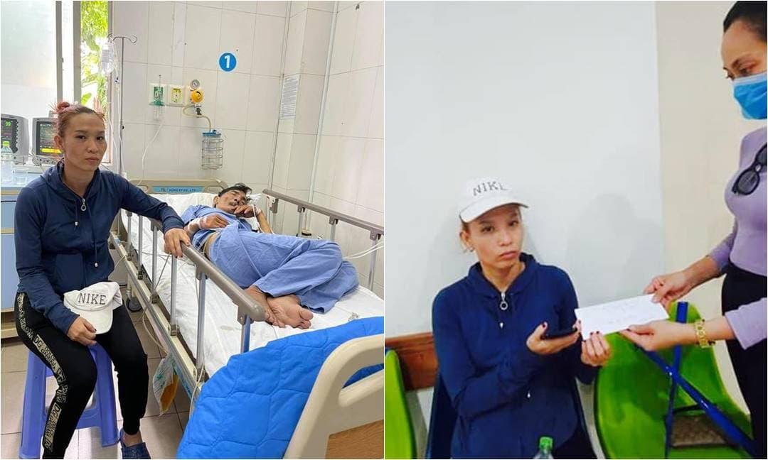 Trịnh Kim Chi kêu gọi được gần 100 triệu, Hạnh Thúy chi trả 10 triệu viện phí cho nghệ sĩ Thương Tín
