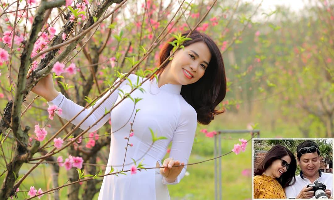 Bạn gái đăng ảnh diện áo dài trắng như nữ sinh, NS Chí Trung liền nói lời yêu