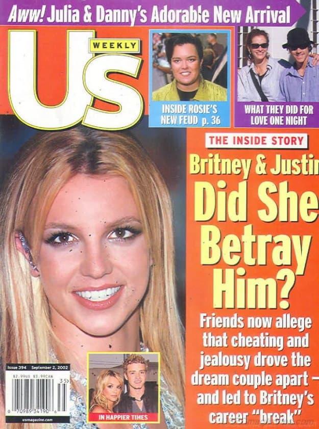 11 lần Justin Timberlake công khai hạ nhục Britney Spears đến nỗi bị mắng 'không đáng mặt đàn ông' 12