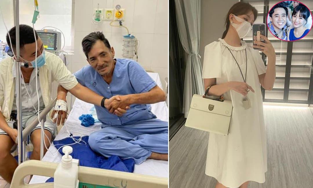 Sao Việt 28/2/2021: Nghệ sĩ Thương Tín đã có thể ngồi dậy ăn cơm sau khi bị đột quỵ; Hari Won bị đồng nghiệp ùa vào 'bắt bẻ' khi nịnh chồng