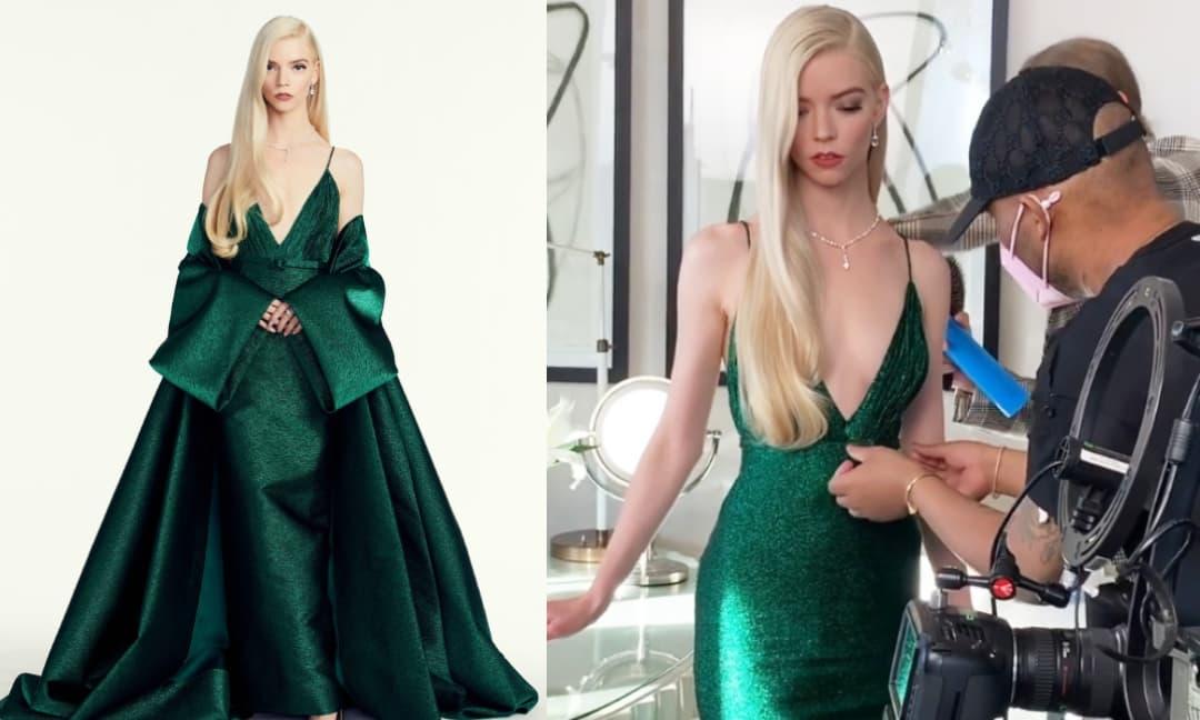 'Nàng thơ Hollywood' Anya Taylor-Joy vượt mặt Nicole Kidman tại Quả cầu vàng với vẻ đẹp nữ thần đầy gợi cảm