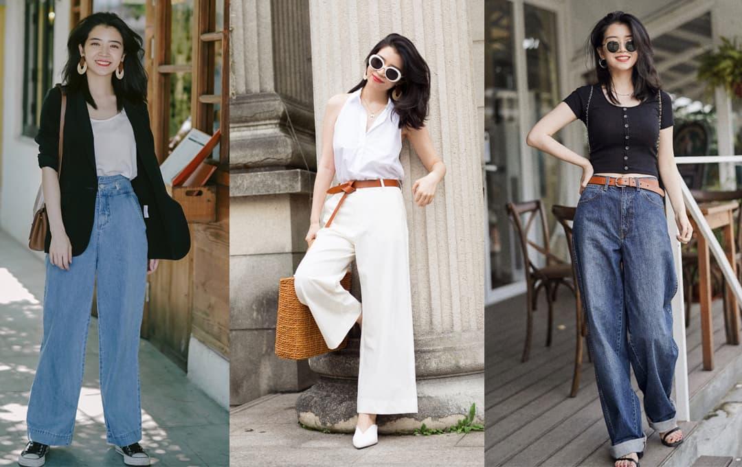 Mặc quần ống rộng như thế nào để tôn lên vẻ sang trọng? 4 cách phối đồ của blogger nổi tiếng vừa đơn giản vừa khí chất