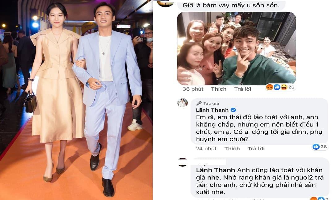 Hậu chia tay Nam Em, Lãnh Thanh đáp trả cực gắt khi bị netizen 'cà khịa' là 'bám váy' phụ nữ