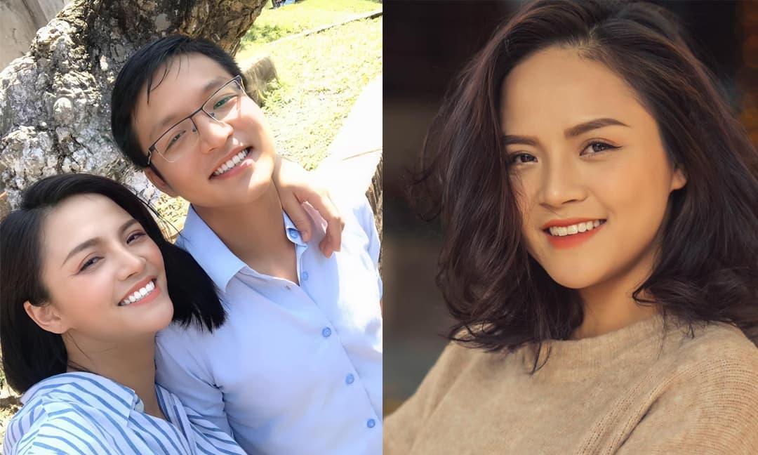 Diễn viên Thu Quỳnh hiếm hoi đăng ảnh chụp cùng em trai ruột