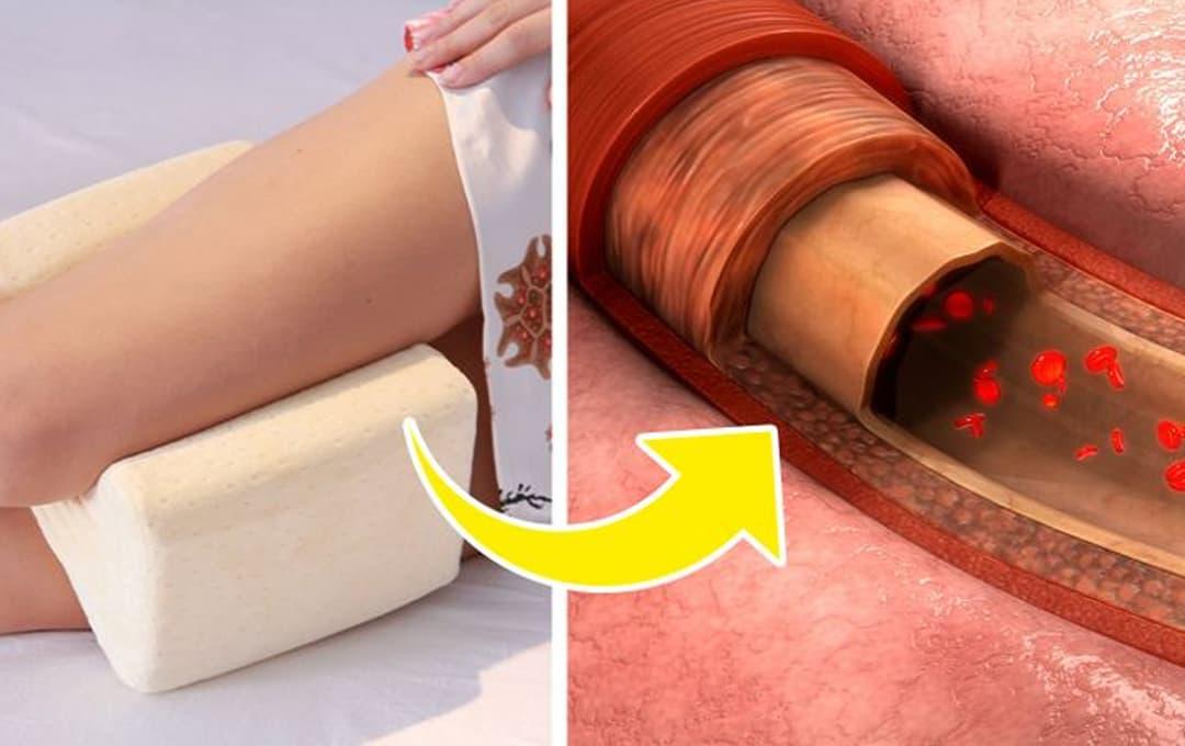4 lý do tại sao bạn nên ngủ với một chiếc gối giữa hai chân