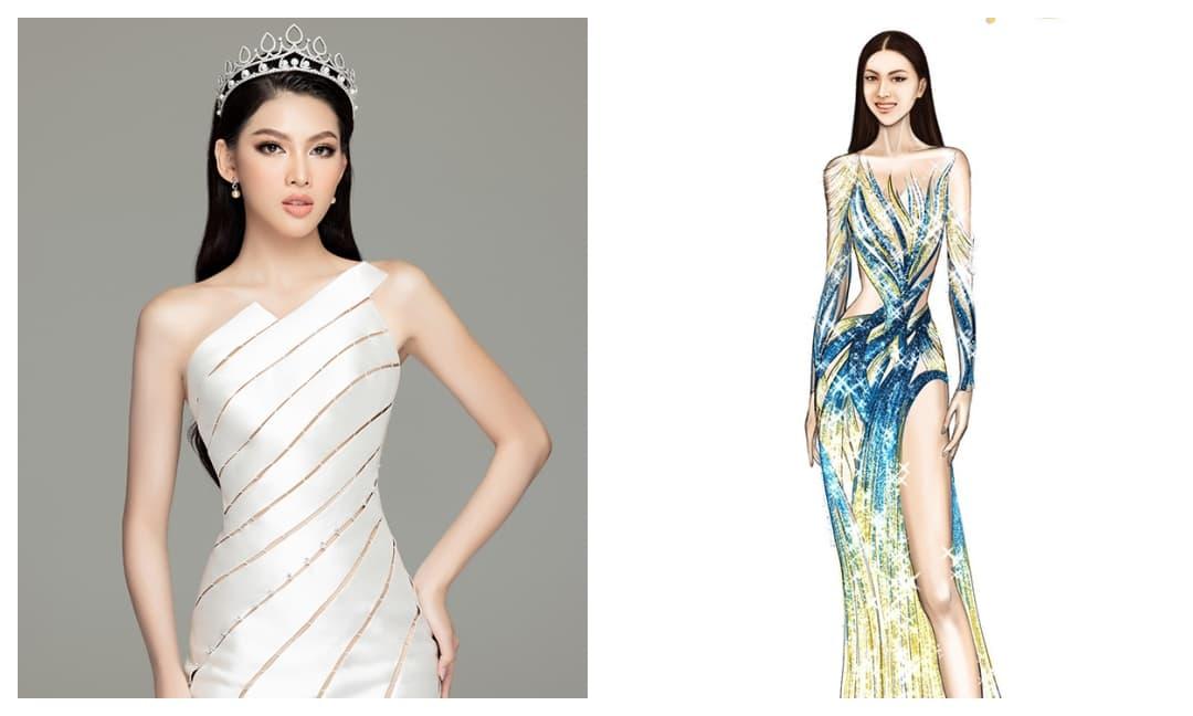 Trang phục dạ hội của Á hậu Ngọc Thảo tại Miss Grand International 2020 có gì đặc biệt?