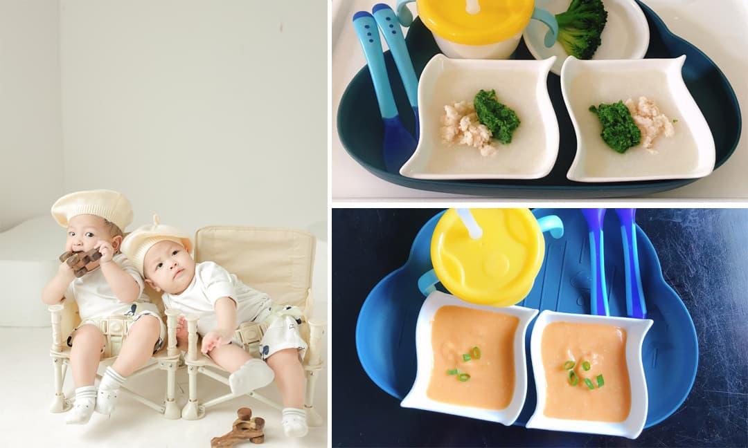 Bật mí thực đơn ăn dặm mà Đặng Thu Thảo nấu cho hai con khiến các bé ăn không kịp đút