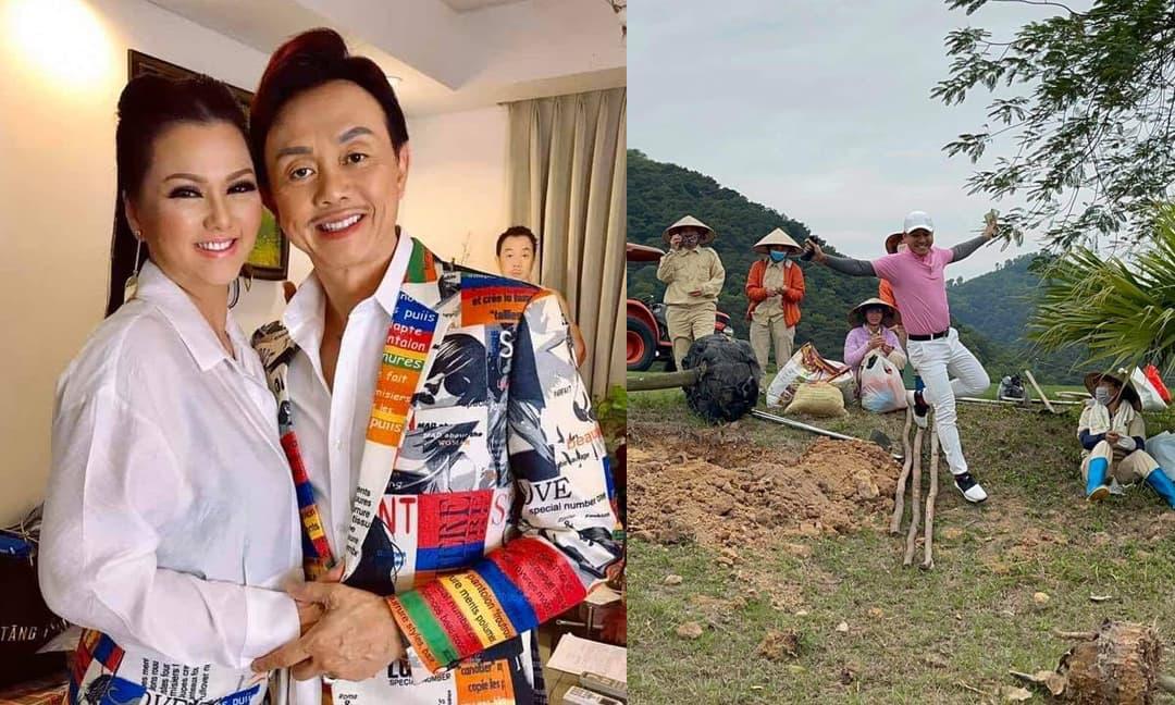 Sao Việt 3/3/2021: Vợ cố NS Chí Tài thay ảnh đại diện khiến fans xót xa; Tuấn Hưng tặng tiền cho những người trồng cây ở sân golf