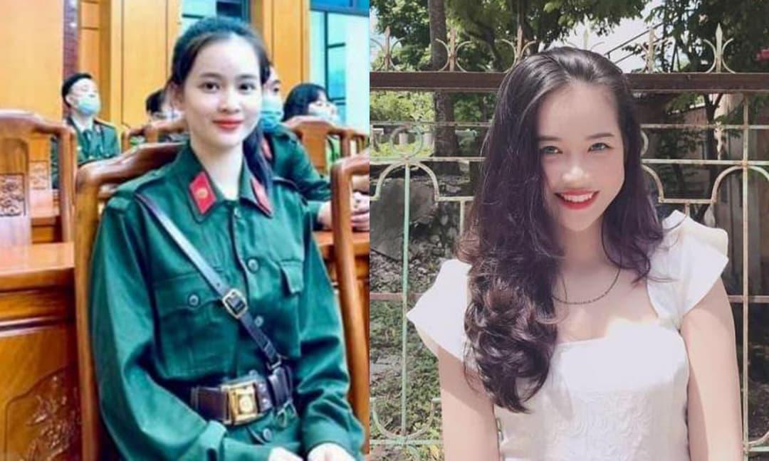 Nhờ một bức ảnh trong ngày lên đường nhập ngũ, nữ tân binh Yên Bái khiến dân tình được phen trầm trồ