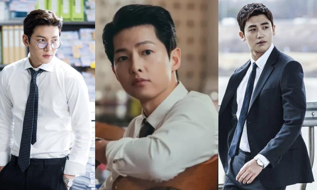 5 nam thần luật sư trong phim Hàn Quốc: Song Joong Ki 'đốn tim' khi vừa điển trai lại hài hước, Ji Chang Wook lịch lãm hút hồn