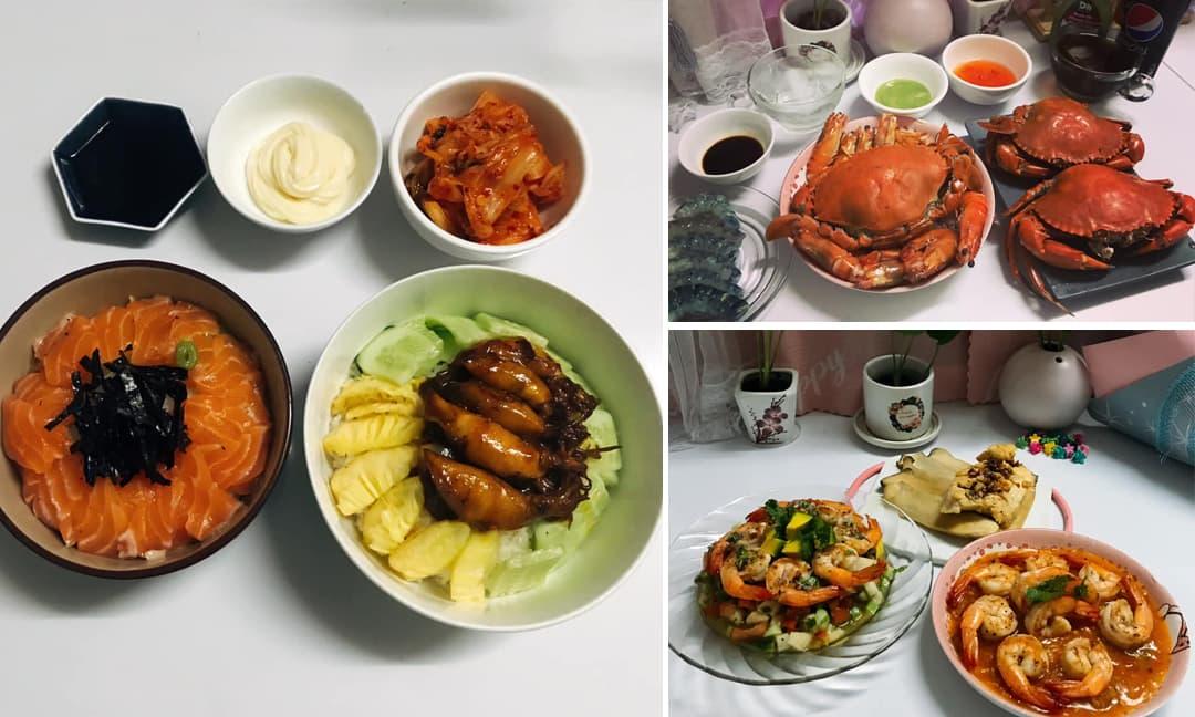 Chàng trai tự tay nấu 1 ngày ba bữa, gần ba năm kết hôn vợ tăng 10 kg