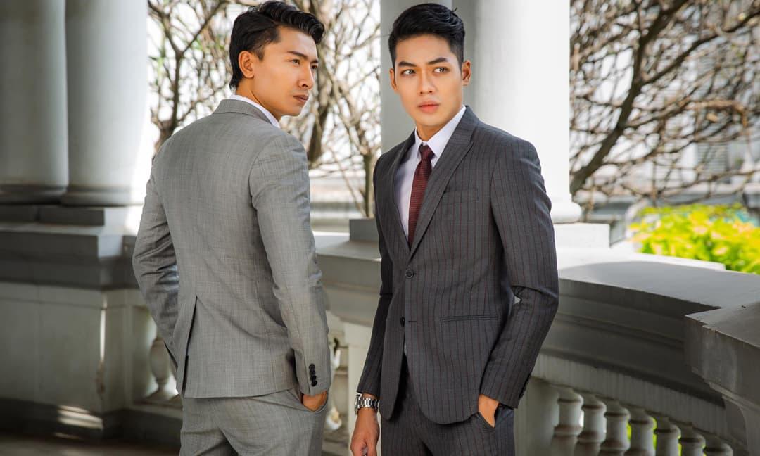 Nam thần Trần Trung và Minh Giang lịch lãm đến chất ngất khi diện vestons ra mắt phim Kiều @