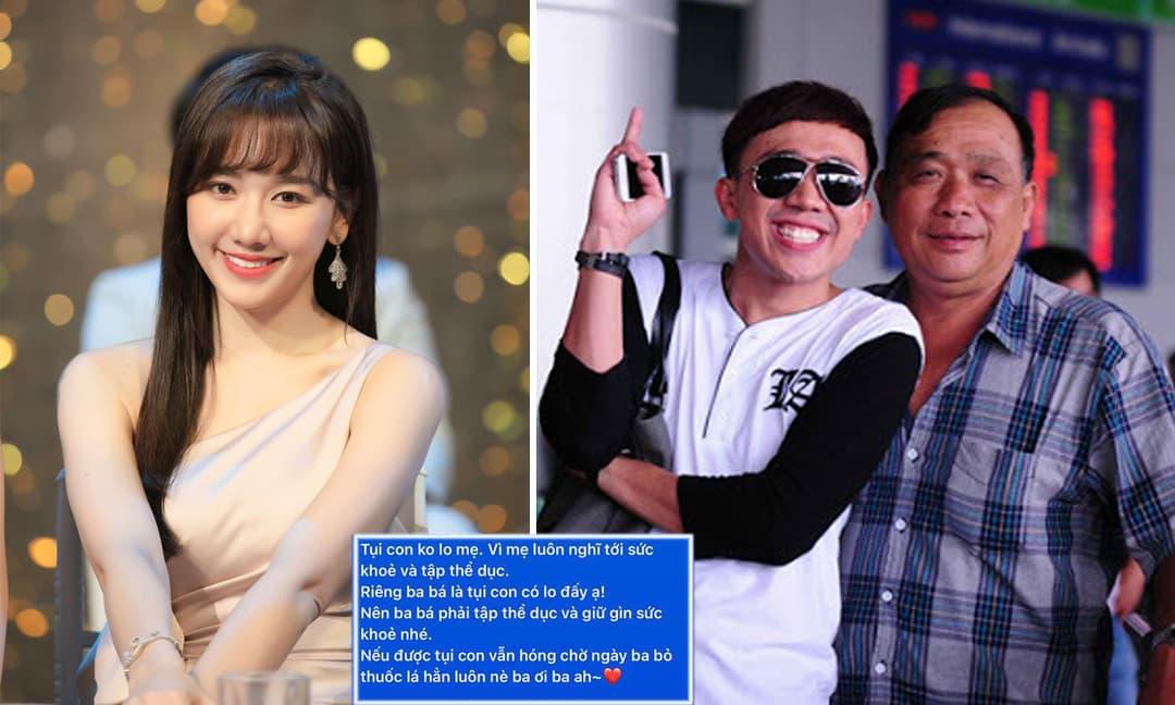 Hé lộ đoạn tin nhắn giữa Hari Won và bố chồng: 'Con dâu cũng thương ba nhiều'