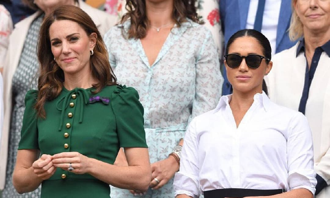 Bị Nữ hoàng điều tra, Meghan lại đổ lỗi cho chị dâu Kate vì tiết lộ chuyện riêng của mình