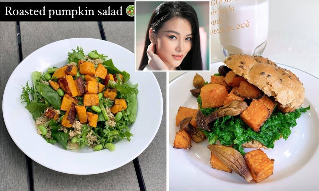 Thực đơn ăn uống heathy để giữ dáng của Hoa hậu Trái đất Phương Khánh