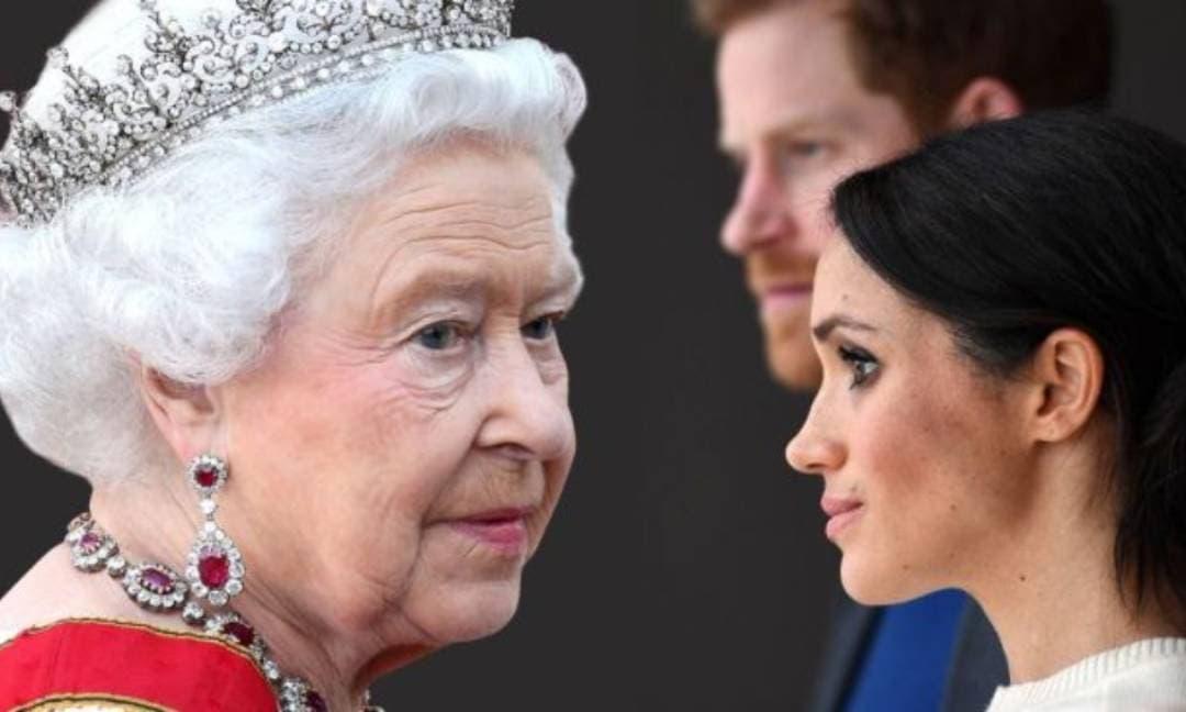 Nữ hoàng quay lưng với vợ chồng Meghan sau khi cặp đôi này cố tình dội bom Hoàng gia Anh