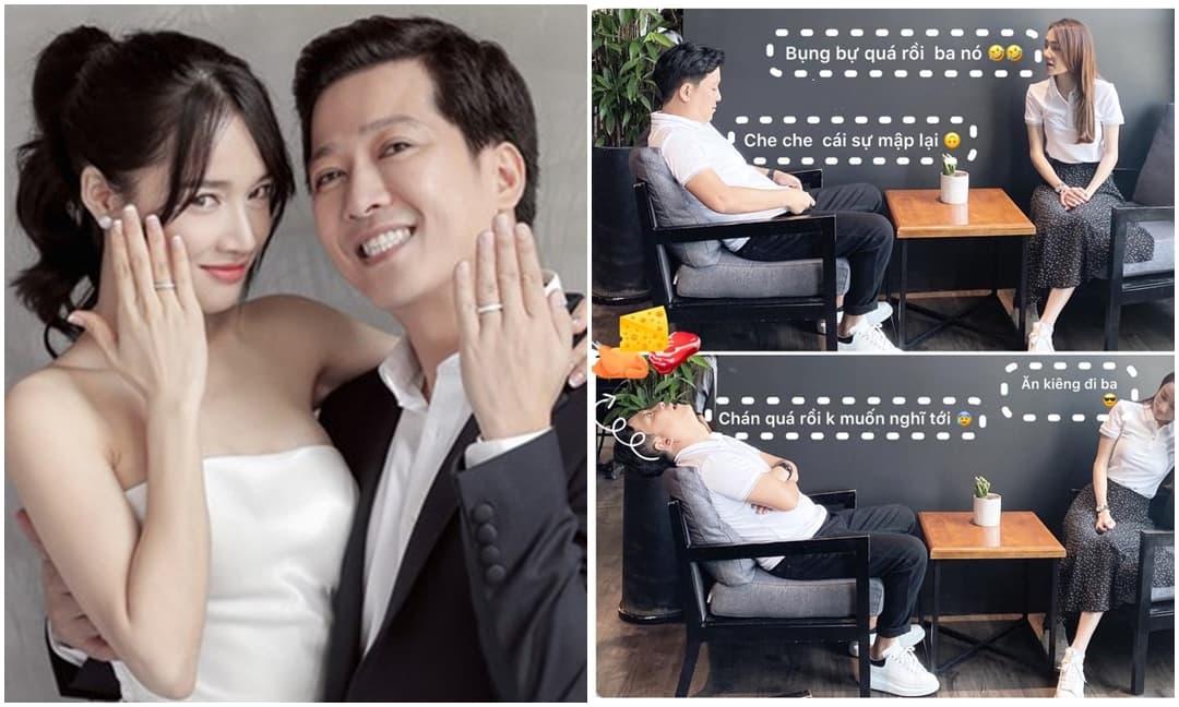 Trường Giang bất ngờ chia sẻ câu chuyện siêu hài hước của 2 vợ chồng, tiện thể khẳng định luôn: 'Mập dễ thương mà'
