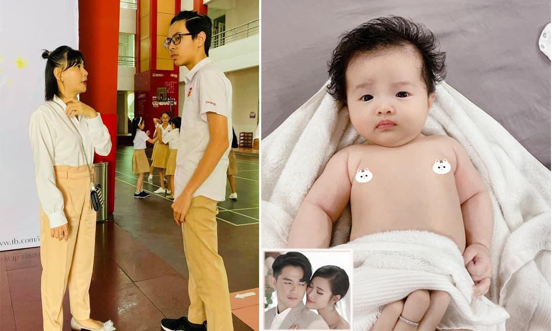 Sao Việt 7/3/2021: Con trai Cát Phượng 'trổ giò' cao lớn bất ngờ, ngày càng giống bố Thái Hòa; Đông Nhi khoe con gái đáng yêu lúc mới tắm xong