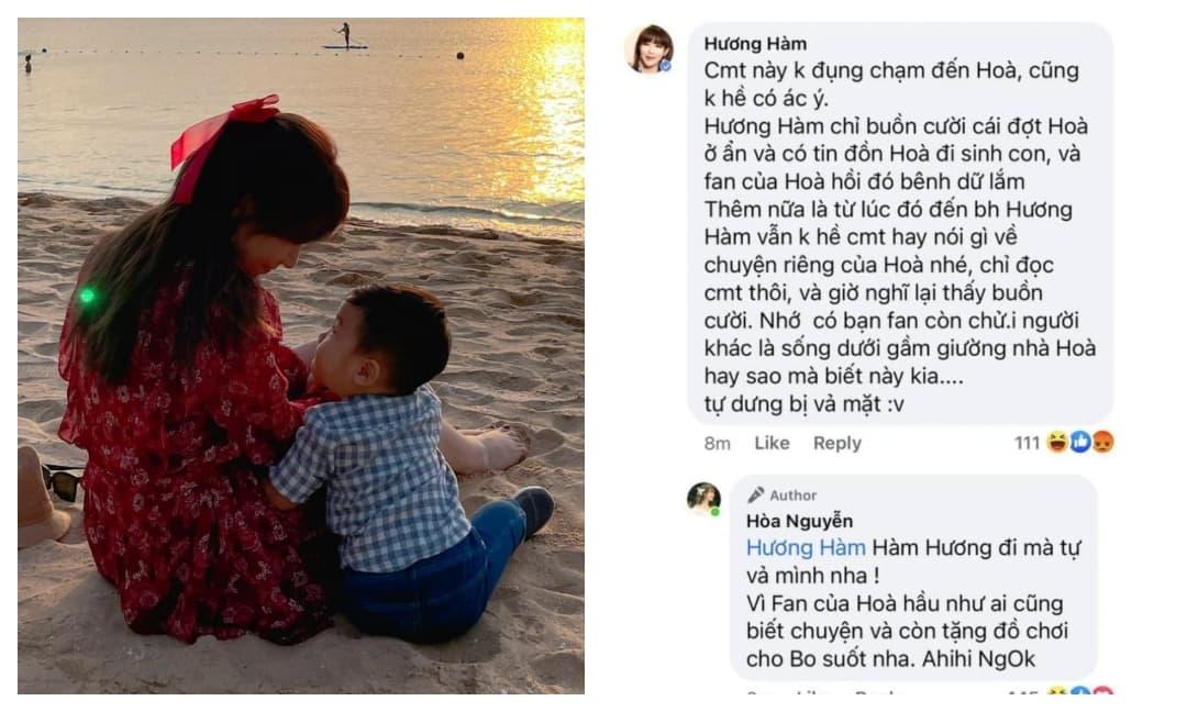 Bị mỉa mai chuyện giấu con và không chồng có con, Hoà Minzy phản ứng thế nào?