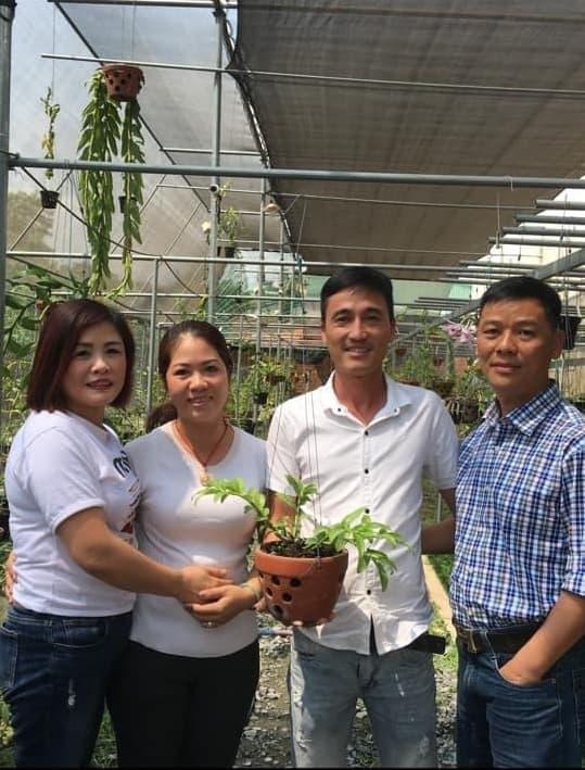 Nguyễn Hồ Phúc Vinh, nghệ nhân lan, vườn lan Thảo Ngân