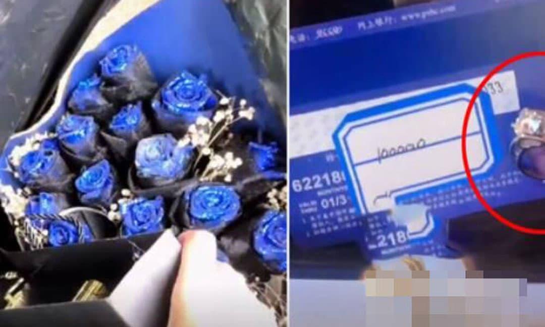 Người phụ nữ nhặt được hộp quà vứt bỏ có cả nhẫn kim cương và thẻ ngân hàng trong thùng rác