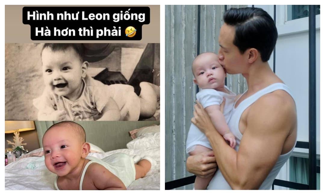 Hà Hồ lí giải chuyện đăng hình con gái Lisa nhưng lại chú thích tên con trai Leon
