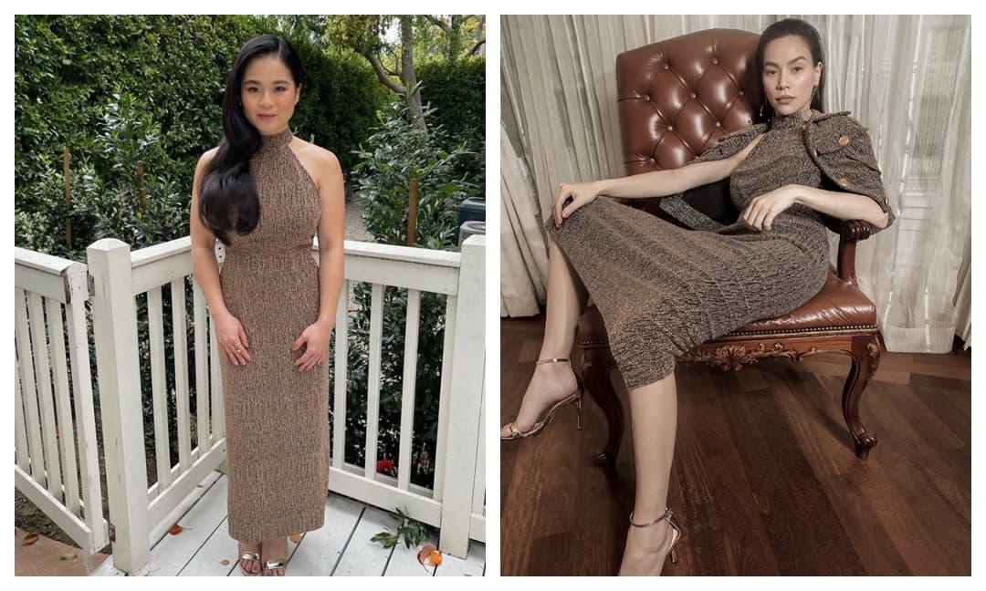 Sao Star wars - Kelly Marie đụng hàng Hà Hồ khi diện trang phục của nhà thiết kế Việt