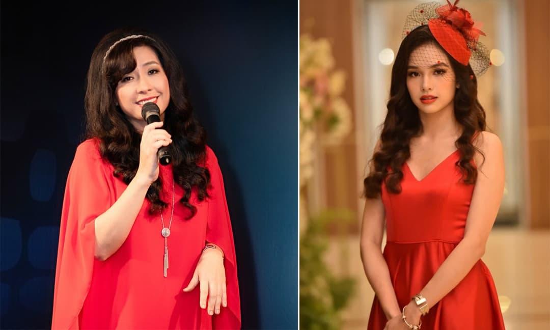 Nhan sắc xinh đẹp như Hoa hậu của con gái ca sĩ Thùy Dung