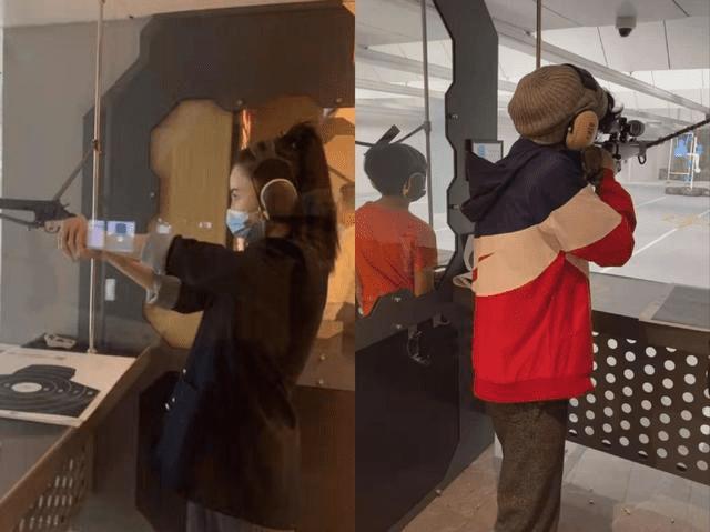 Trương Bá Chi khoe thú vui bắn súng cực 'ngầu', gián tiếp phủ nhận tin đồn mang thai lần 4 0