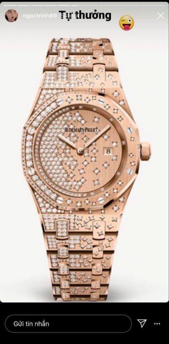 Nhìn lại bộ sưu tập đồng hồ hàng chục tỷ của 'Nữ hoàng nội y' Ngọc Trinh trước khi bị mất cắp 9