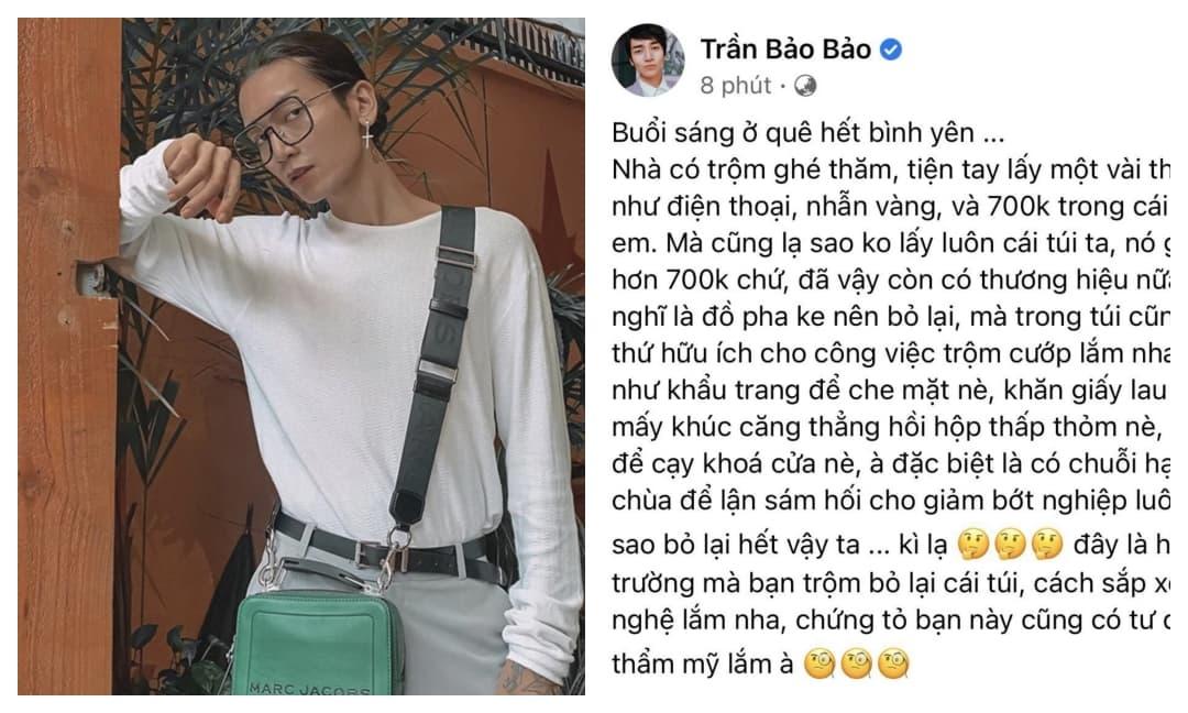 Bị trộm đột nhập nhà nhưng BB Trần kể như phim hài, còn tức tên trộm vì chi tiết cực lầy này
