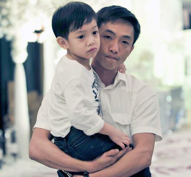 Khoảnh khắc Cường Đô La đón Subeo đi học về nhận bão like, con trai riêng cao gần bằng bố 3