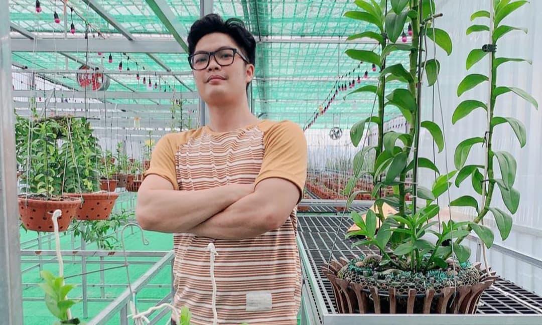 Phạm Văn Chiến, Hoa lan, Phong lan