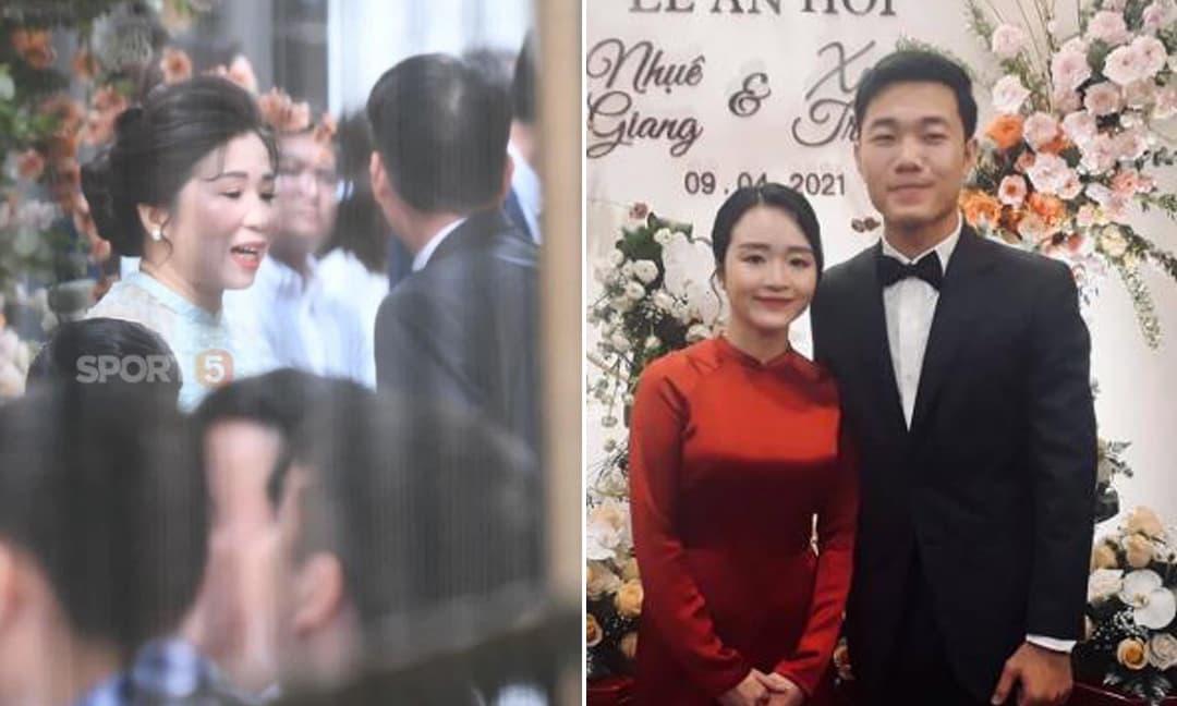 Hé lộ chân dung bố mẹ vợ 'quyền lực' của tiền vệ Lương Xuân Trường