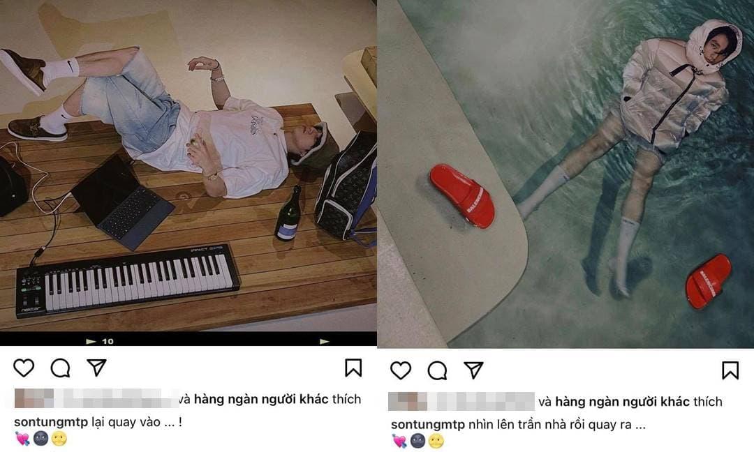 Comeback mạng xã hội, Sơn Tùng M-TP liên tục đăng loạt ảnh 'độc - lạ' lúc 1 giờ sáng