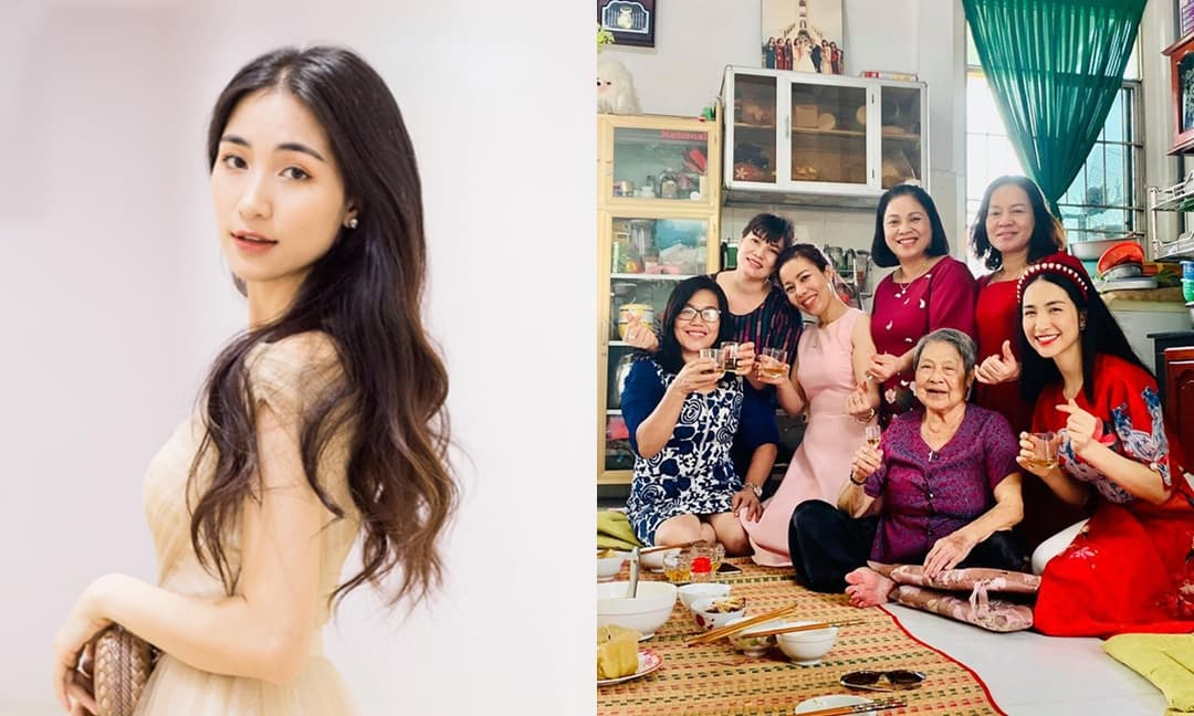 Bất ngờ trước thái độ của mẹ chồng Hòa Minzy với con dâu và cháu trai
