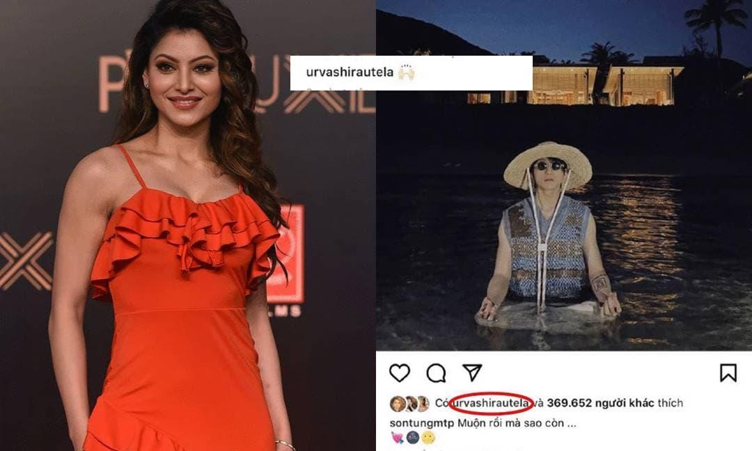 Không chỉ gửi chúc mừng sinh nhật, Hoa hậu Hoàn vũ Ấn Độ còn 'thả tim' liên tục ảnh của Sơn Tùng M-TP