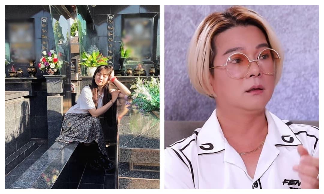 Khánh Vân bị ném đá vì tạo dáng bên mộ người thân, Vũ Hà bênh một câu ai cũng phục