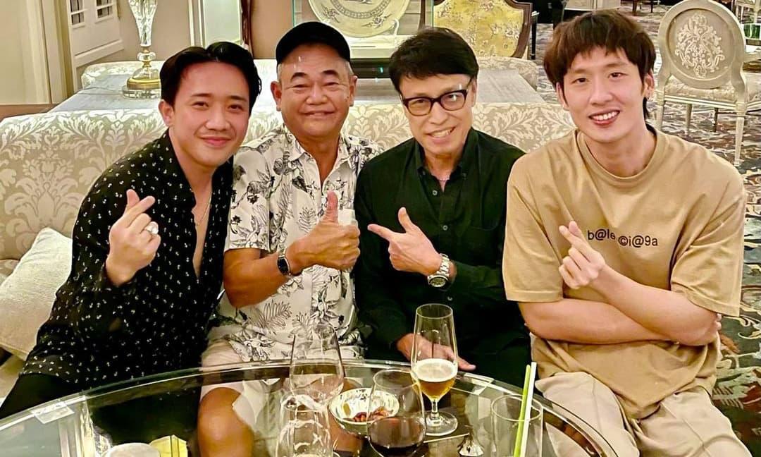 Giữa bão scandal với Lý Hải, Trấn Thành lại có động thái cực thoải mái bên ba người đàn ông này
