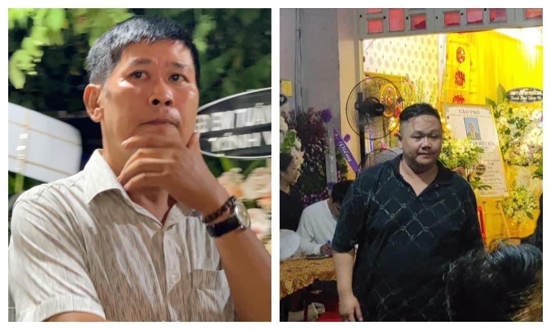 Đạo diễn Phước Sang, Minh Béo hiếm hoi xuất hiện, dự lễ tang của bố Hiếu Hiền