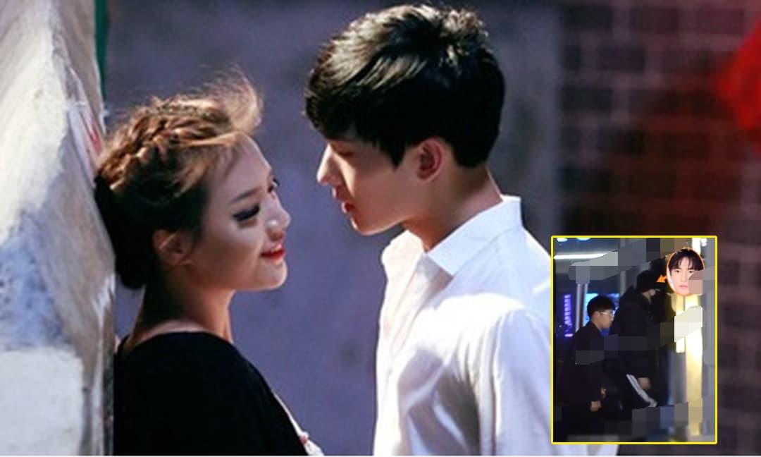 Mỹ nam Dương Dương bị bắt gặp 'cặp kè' với bạn diễn Trần Đô Linh, nghi ngờ 'phim giả tình thật'